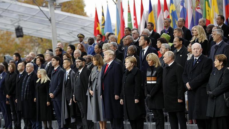 Svetski lideri u Parizu obeležili Dan primirja